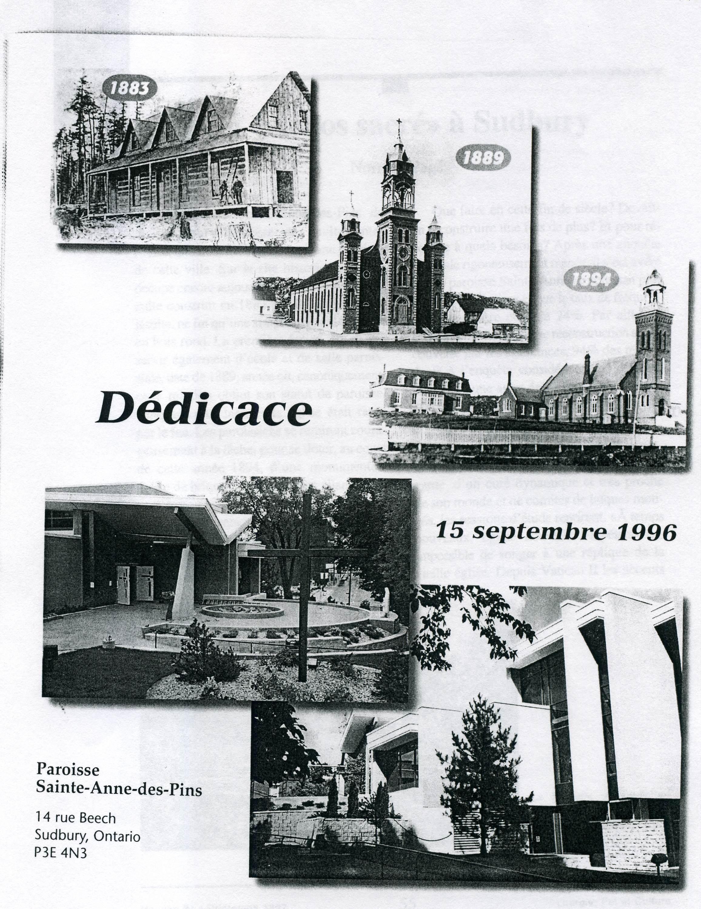Dédicace en 1996