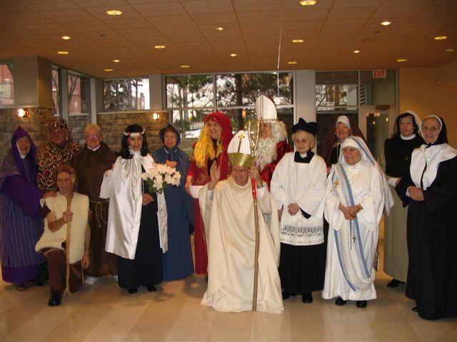 Défilé des saints à Ste Anne (1)