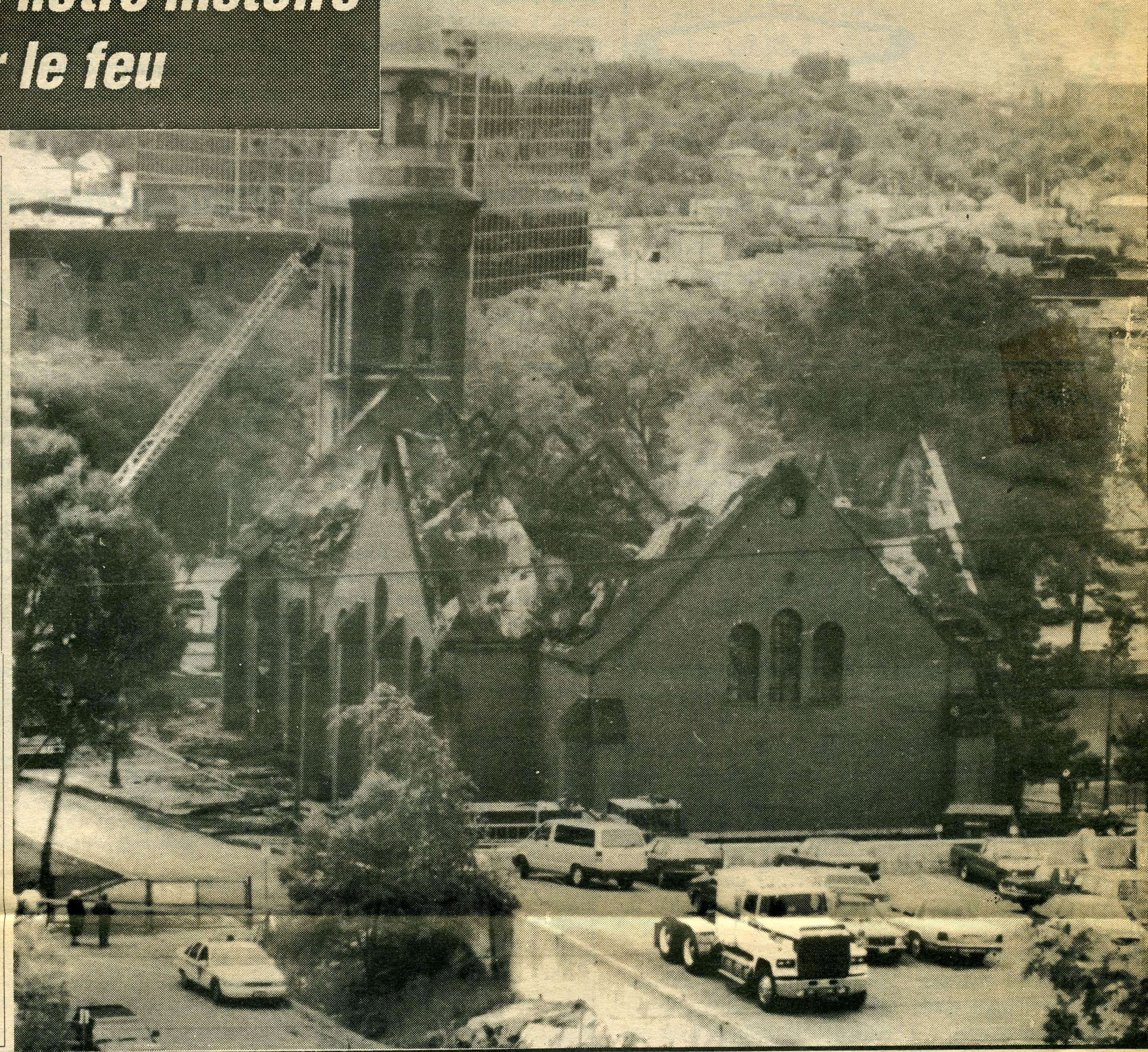 Incendie en 1992