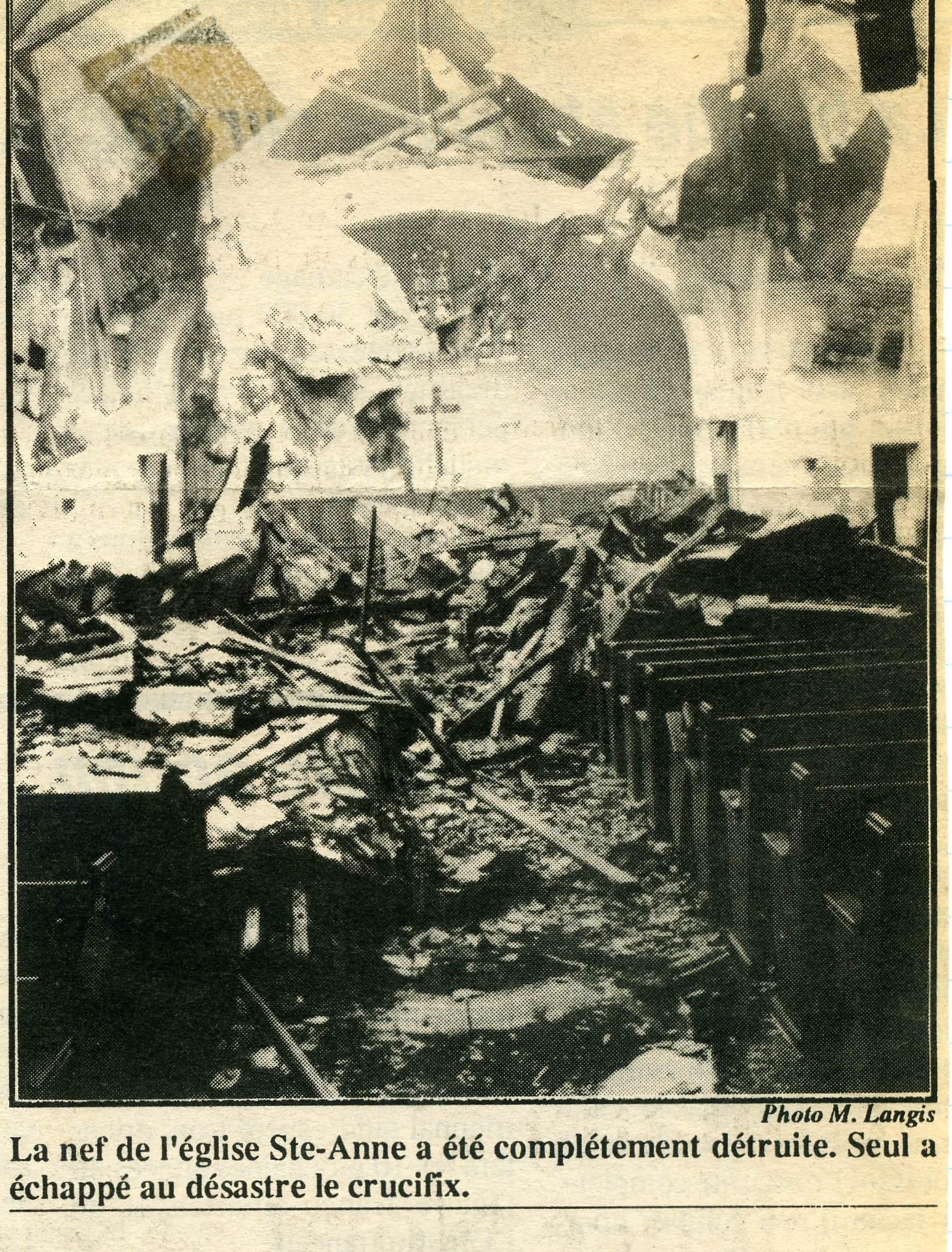 La nef en 1992