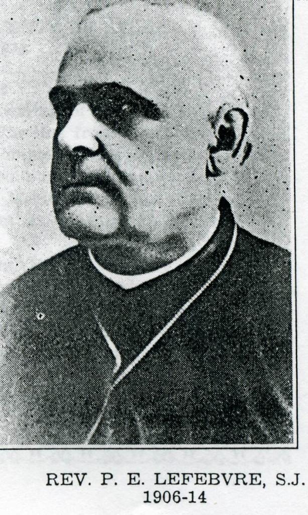 P. P.E. Lefebvre S. J