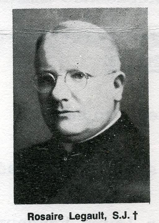 P. Rosaire Legault S.J.