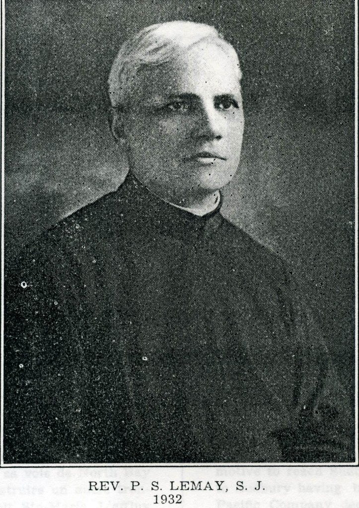 P. S. Lemay S.J.