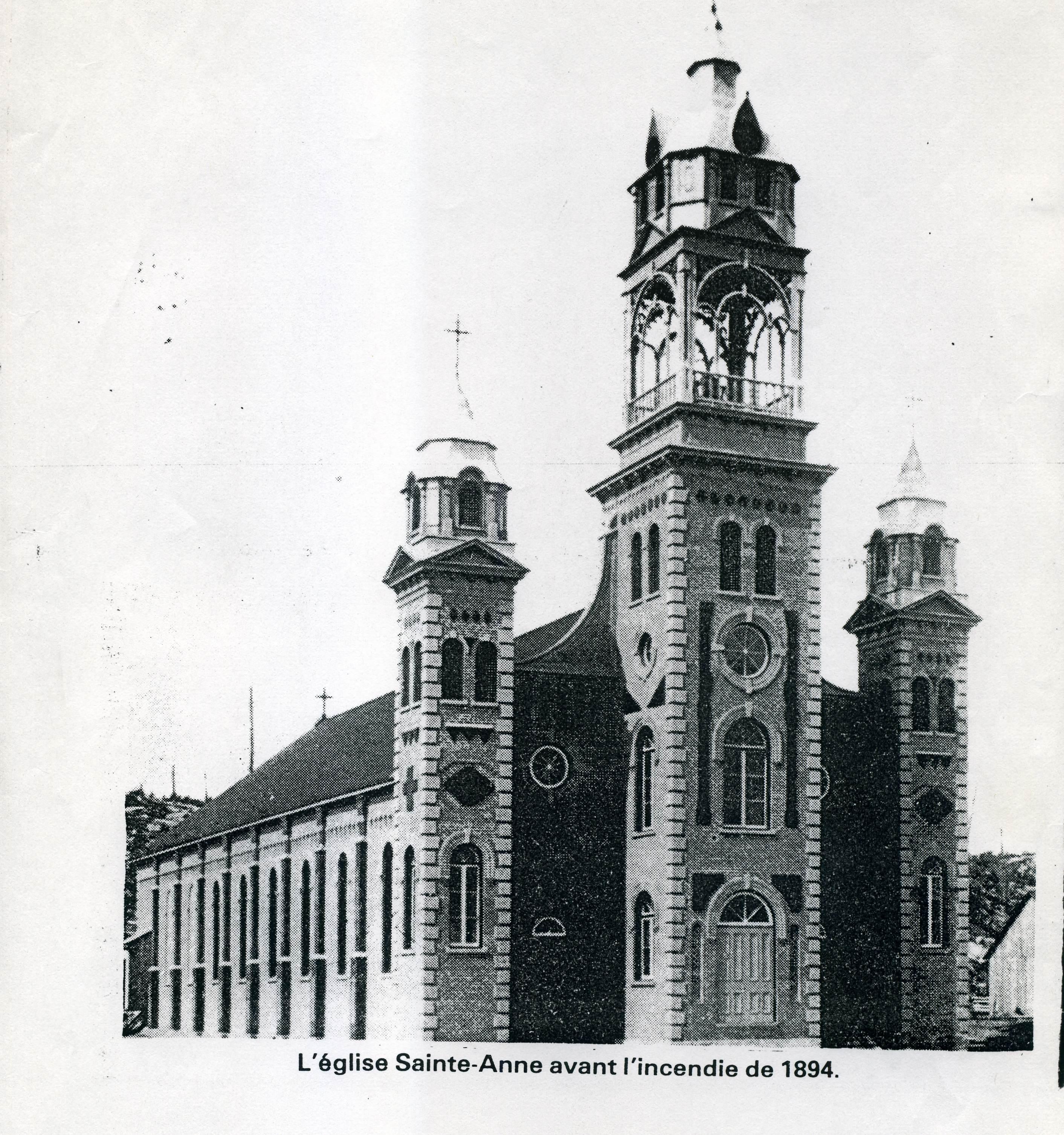 L'église avant 1894