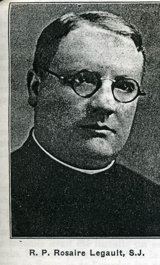 R. P.Rosaire Legault S. J.